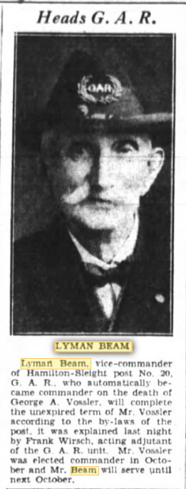 Lyman C Beam