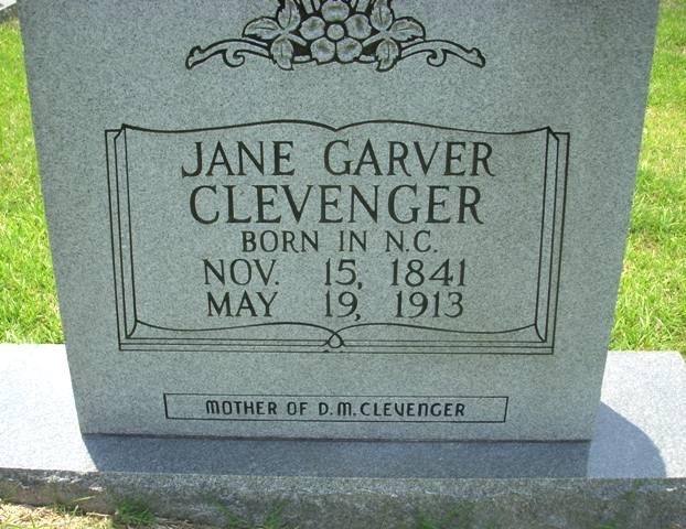 Jane C Garver