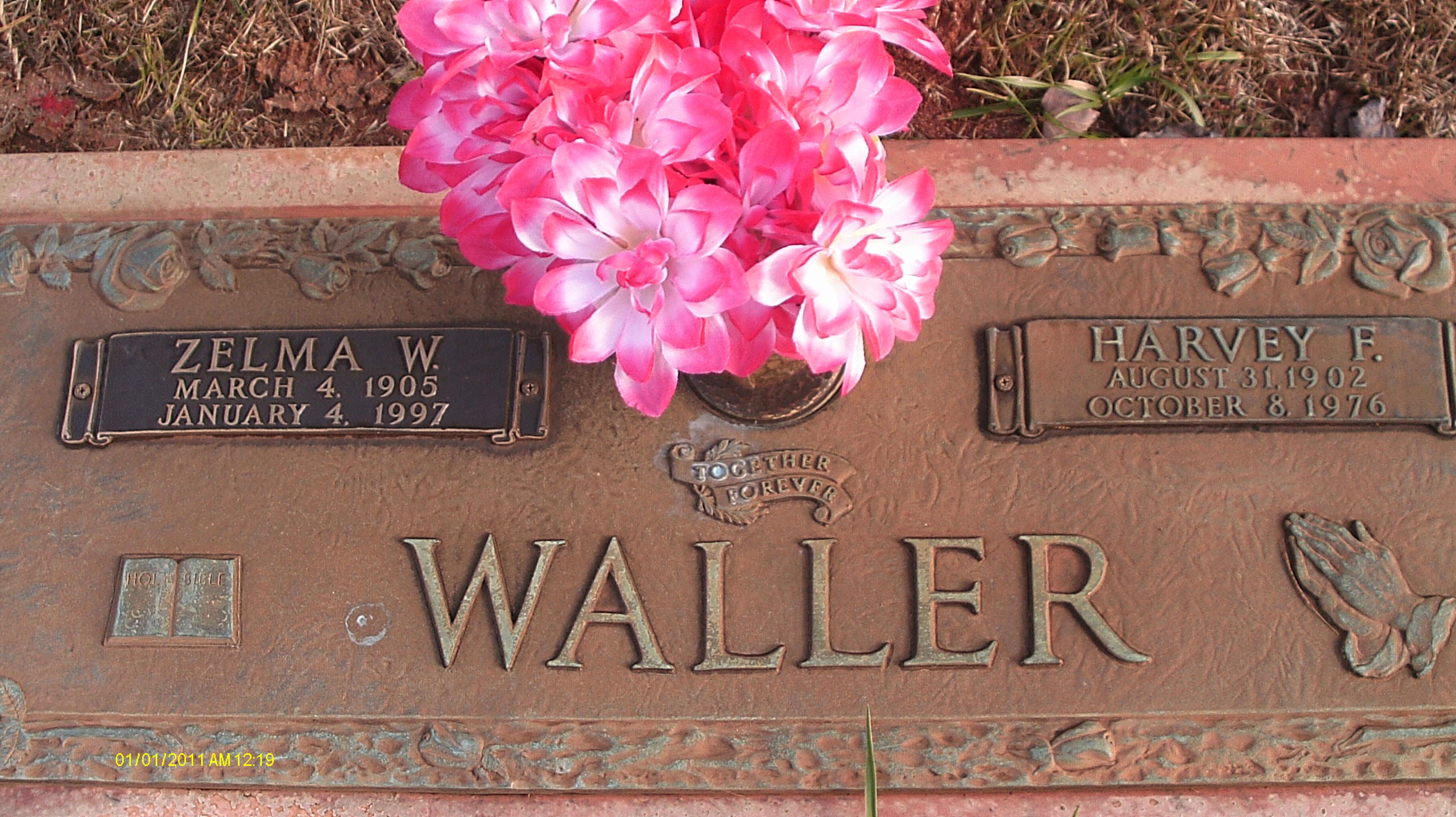 "Harvey Frederick "" Fred"" Waller"