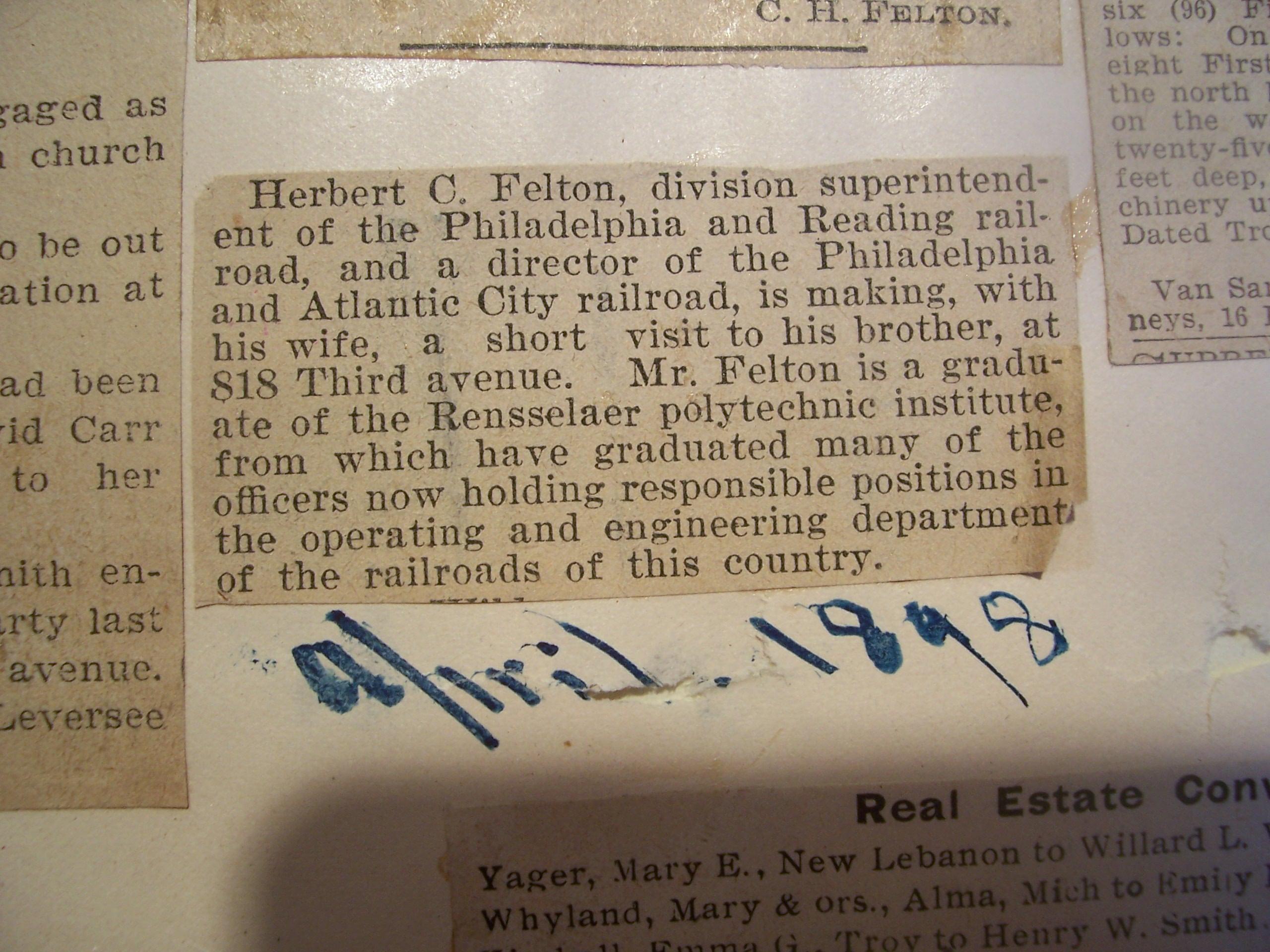 Herbert Clark Felton