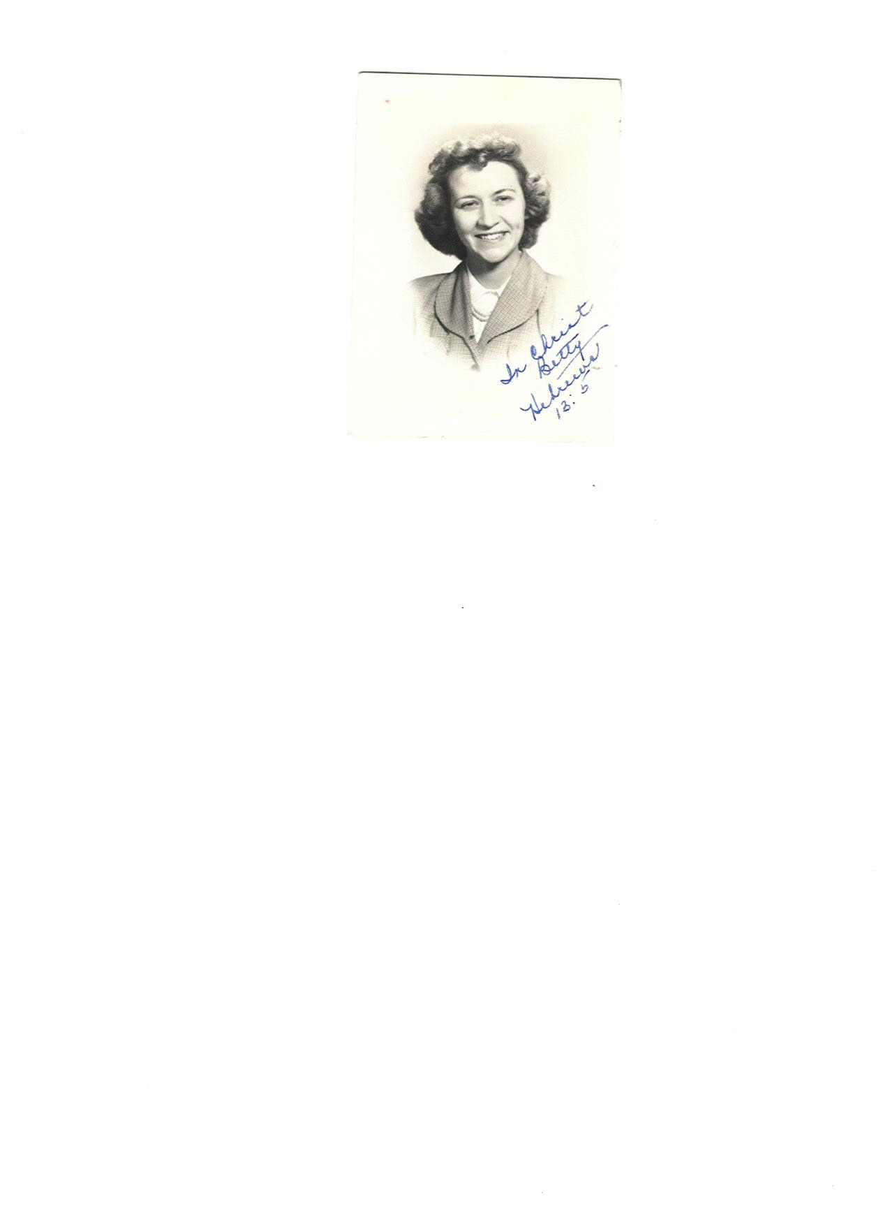 Betty June Hall