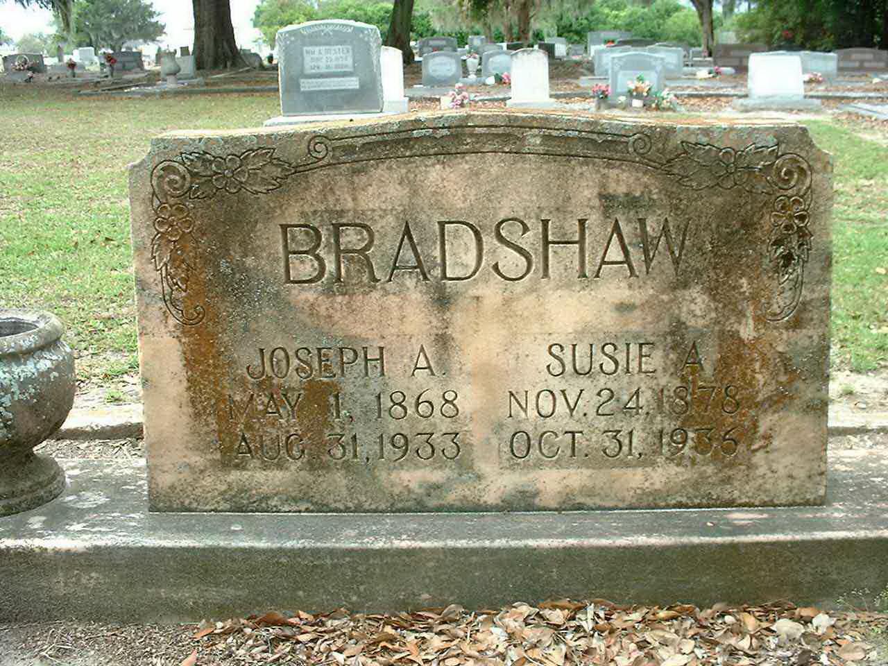 Joseph A Bradshaw