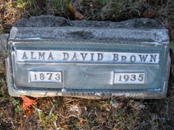 Alma David Brown