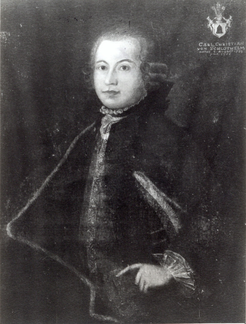 Karl Christian Freiherr Schlotheim