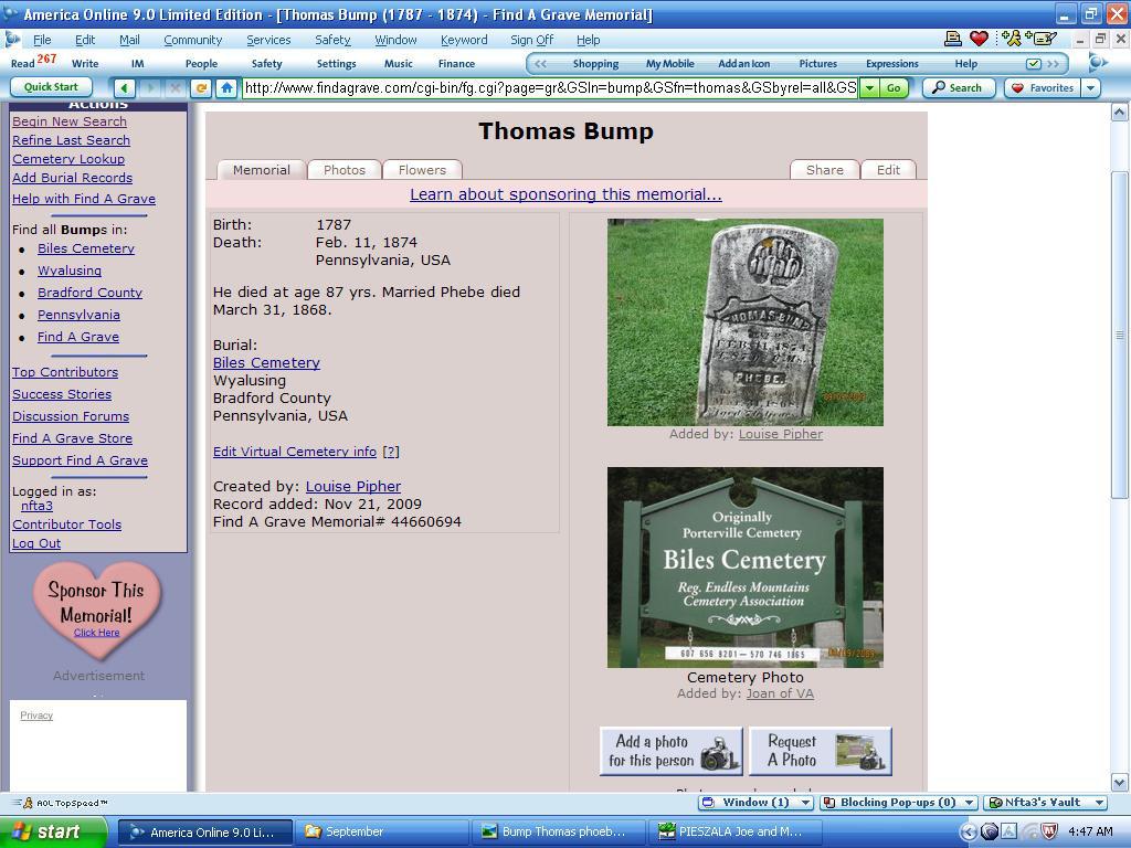 Thomas Bump