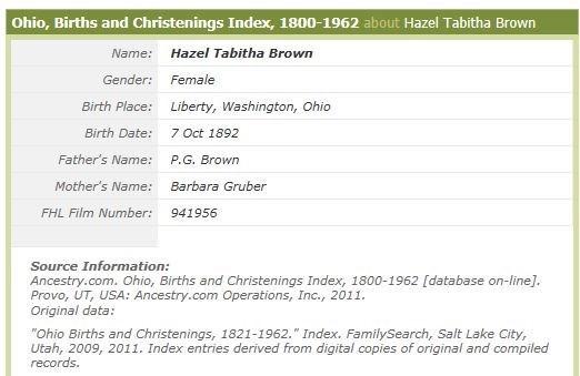 Hazel T. Brown