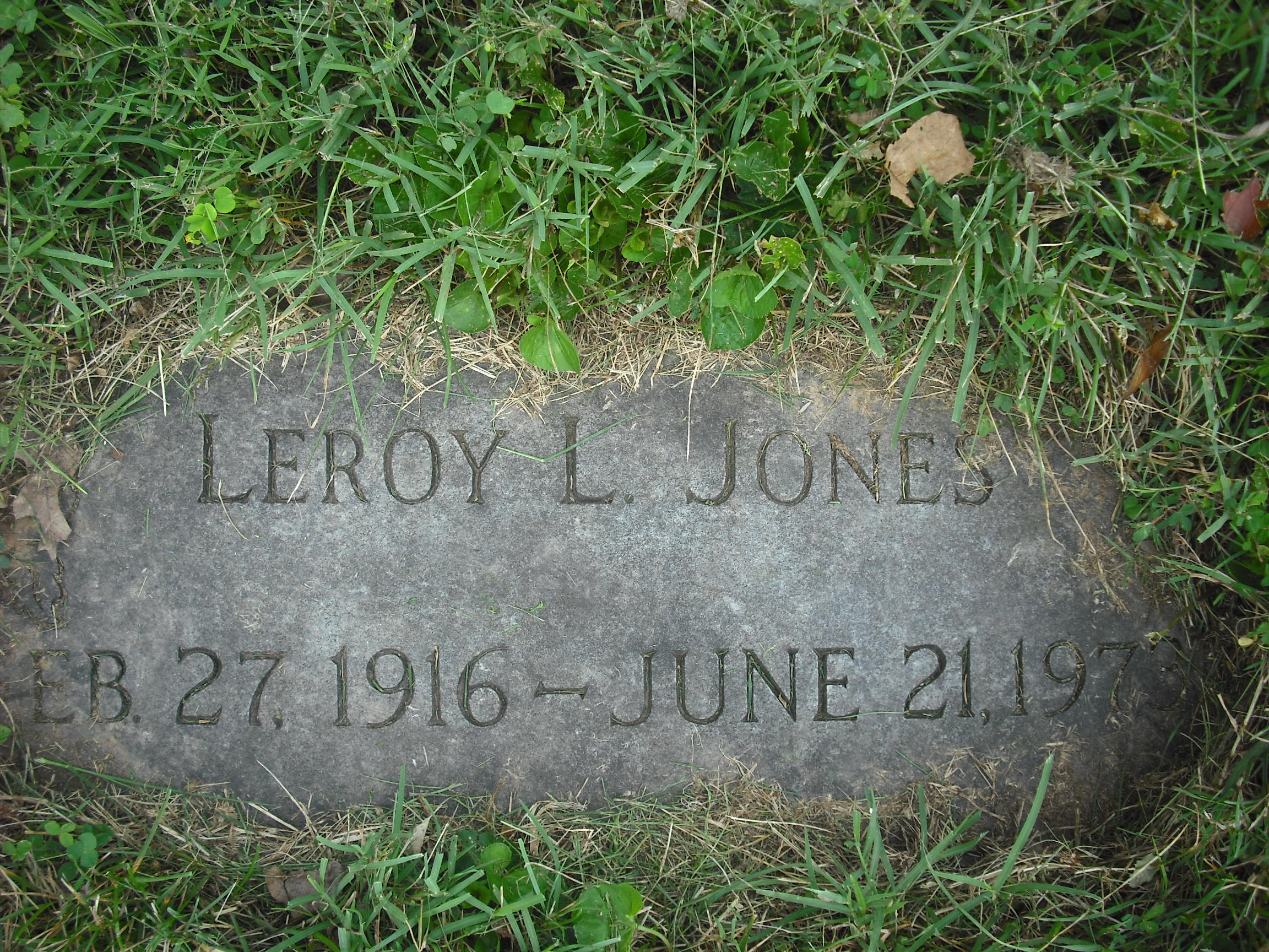 Leroy L. Jones
