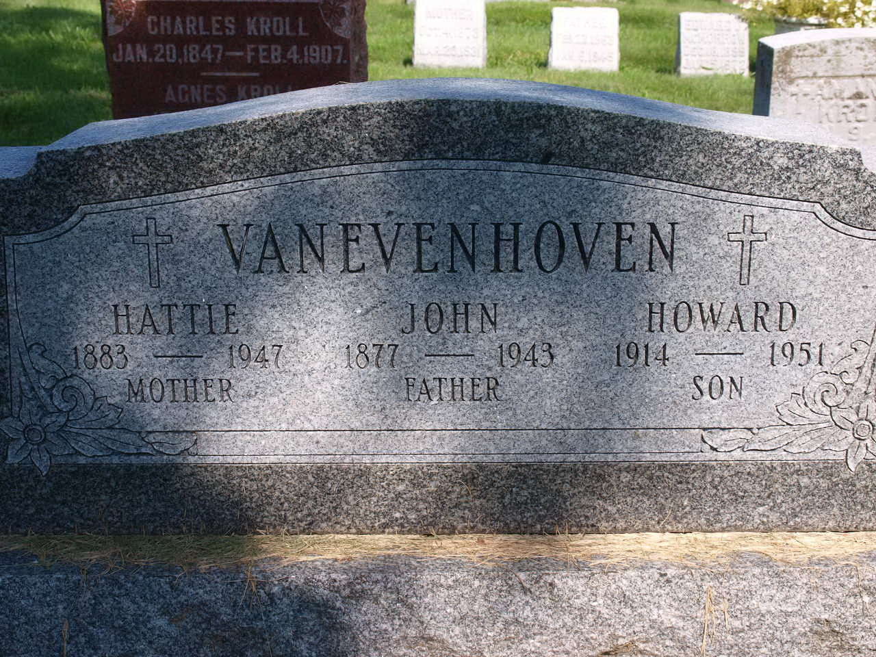 John B Van Evenhoven