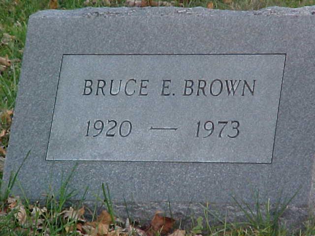 Bruce Ellsworth Brown