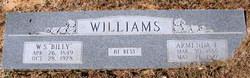 "William Spencer ""Billy"" Williams"
