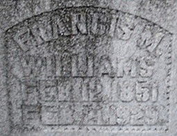 "Francis Marion ""Buddy"" Williams"