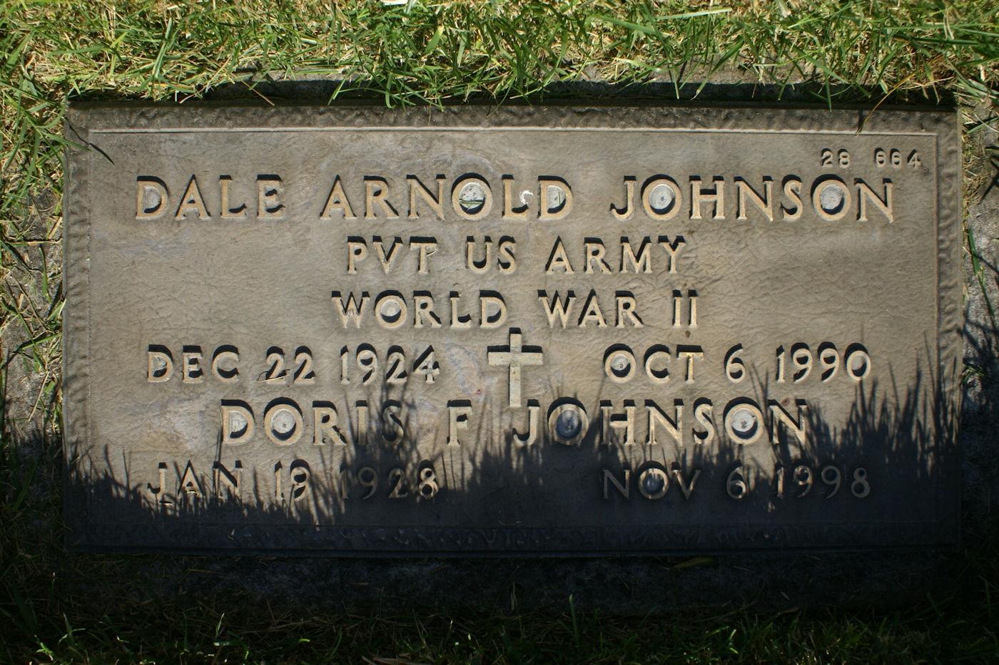 Doris F Johnson