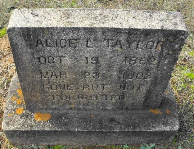 Alice L Harper ( Taylor)