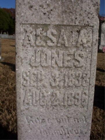 Alsa A Jones