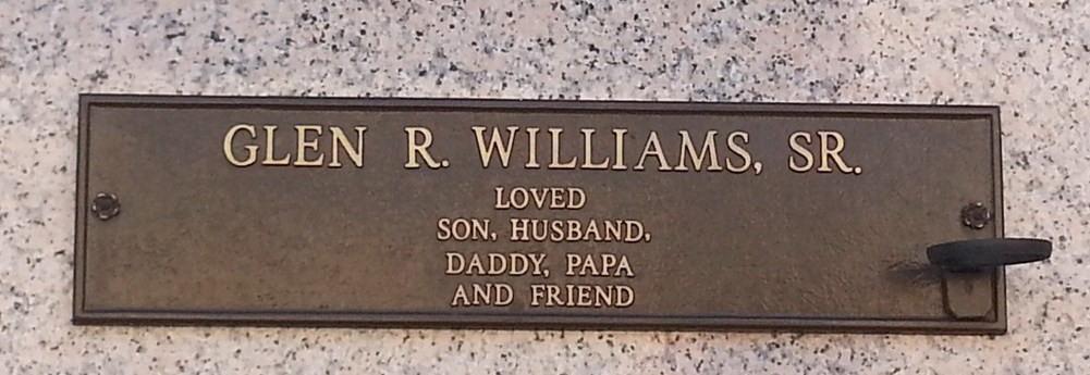 Glen Ray Williams Sr.