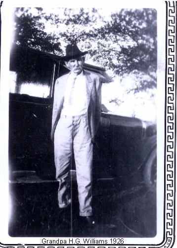 Horace George Williams