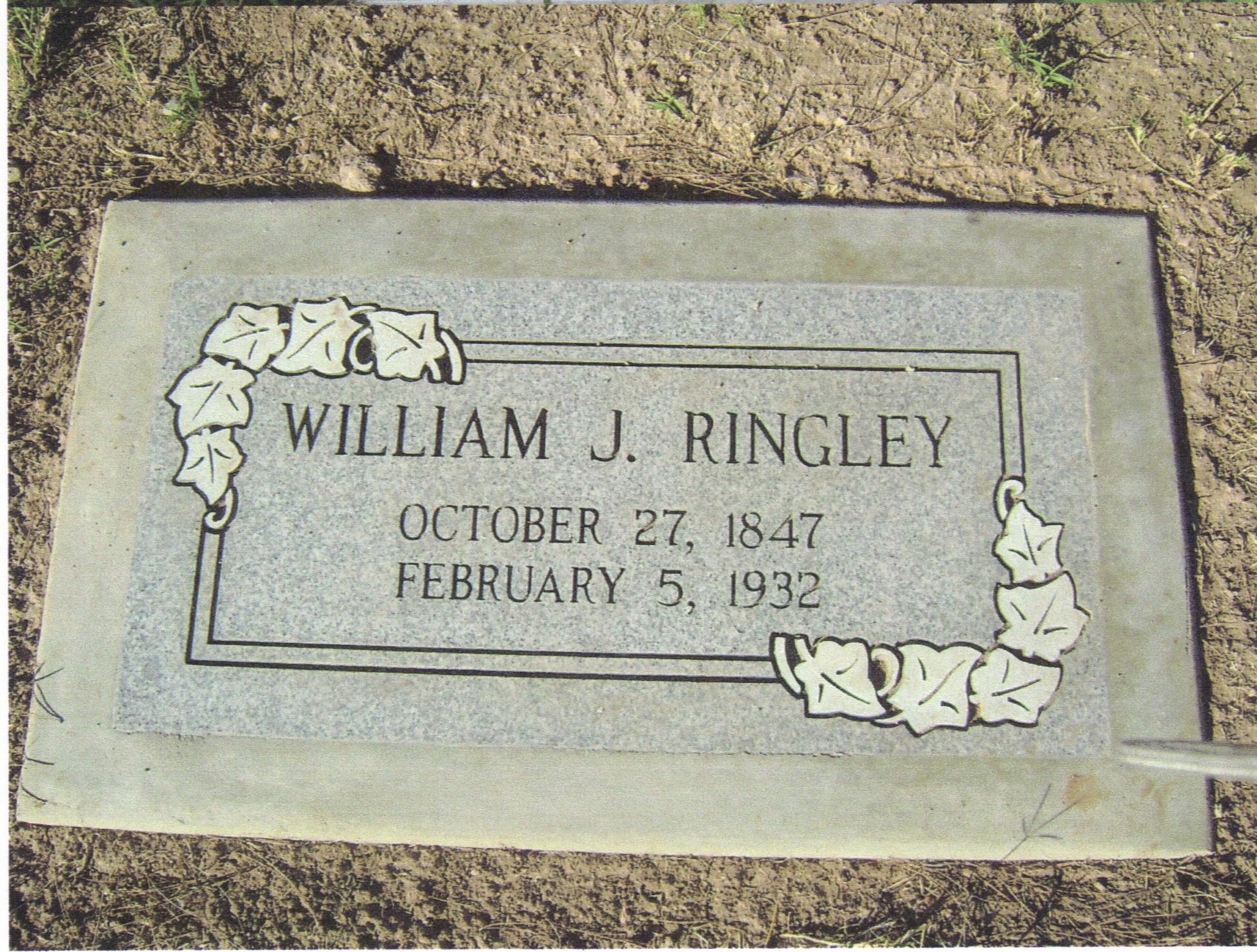 """William Jacob """"Jake"""" Ringley"""