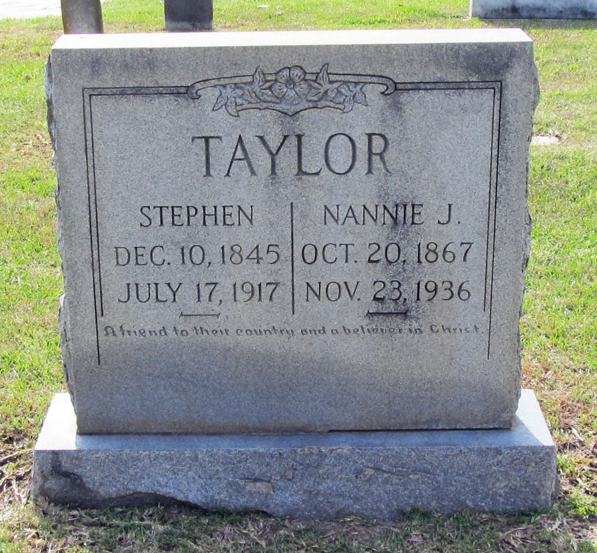 * Stephen Taylor