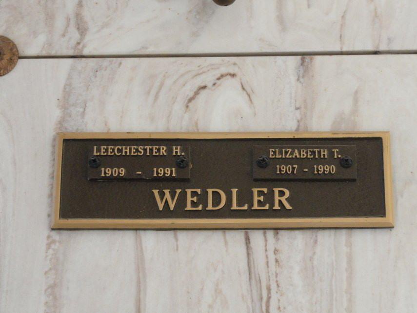 Leechester Harry. Wedler