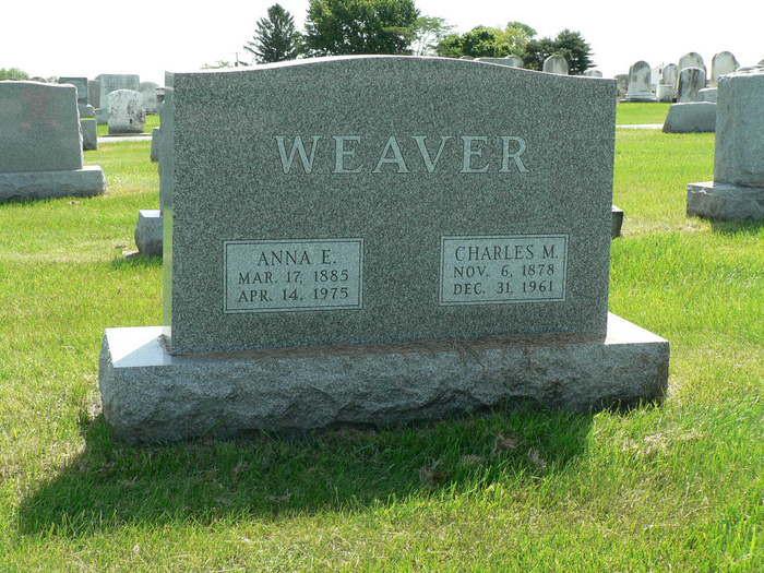 Charles M Weaver