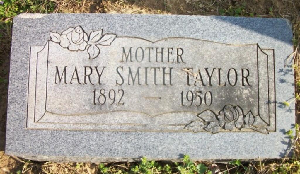 Mary Smith ( Taylor) (Riggs)