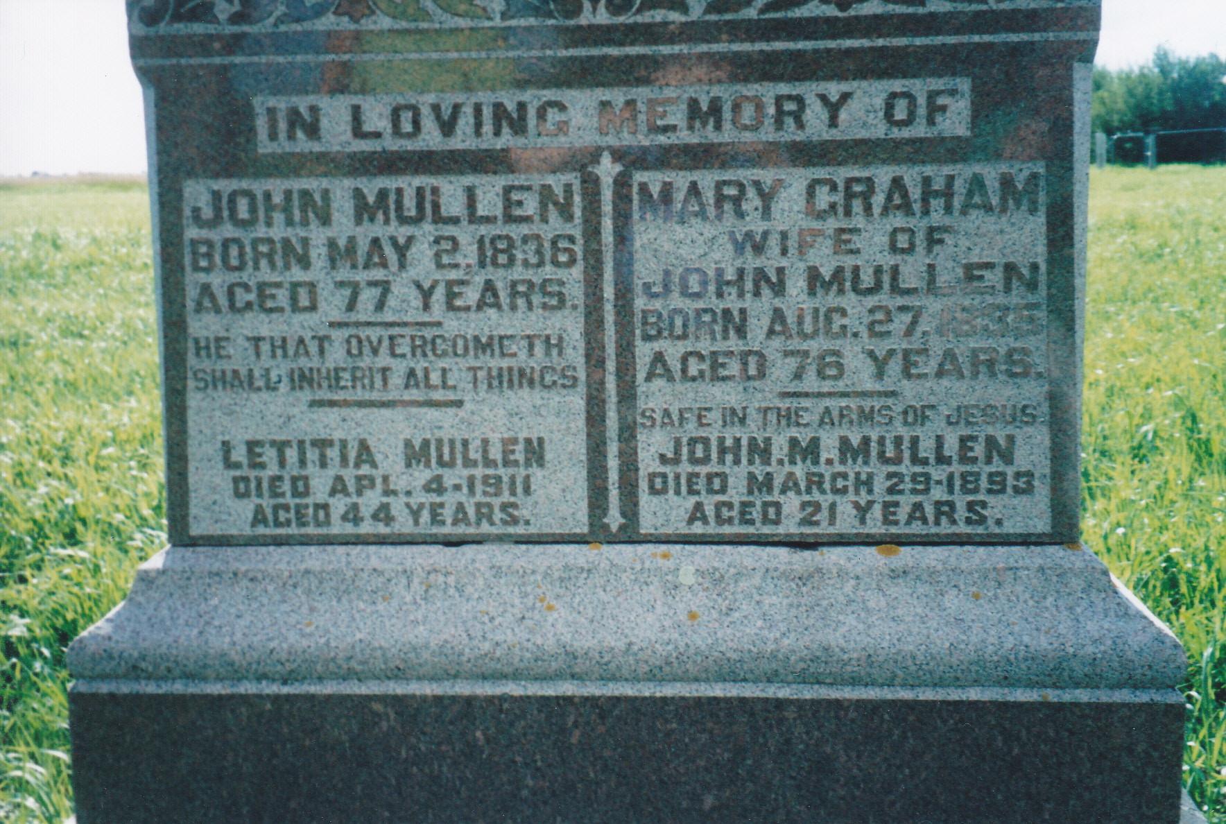 John M. Mullen