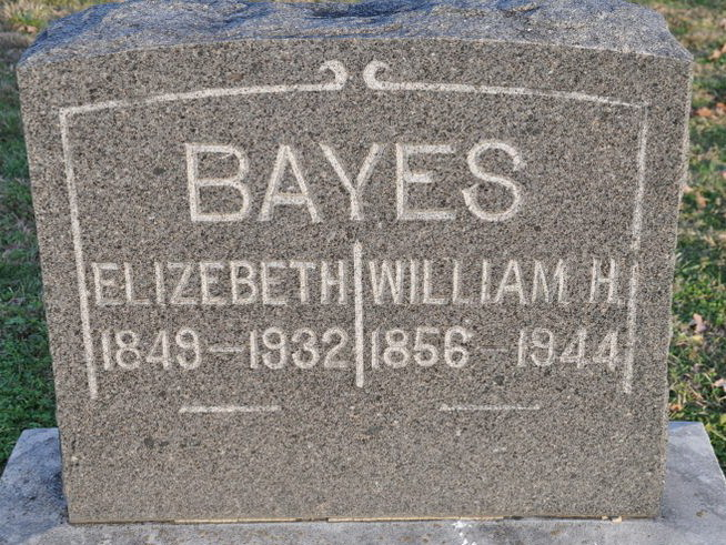Nancy Elizabeth Underwood Bayes
