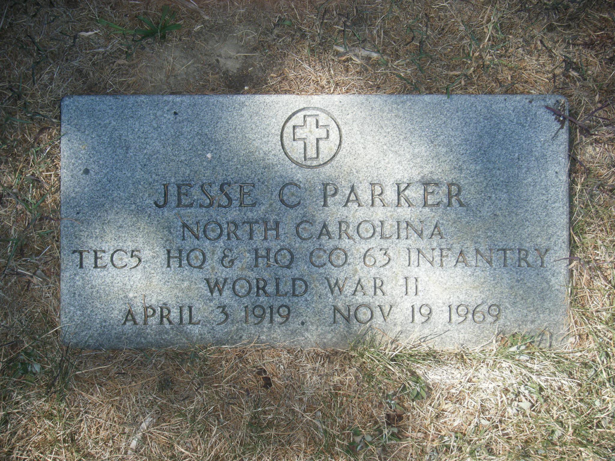 Jesse Calvin Parker