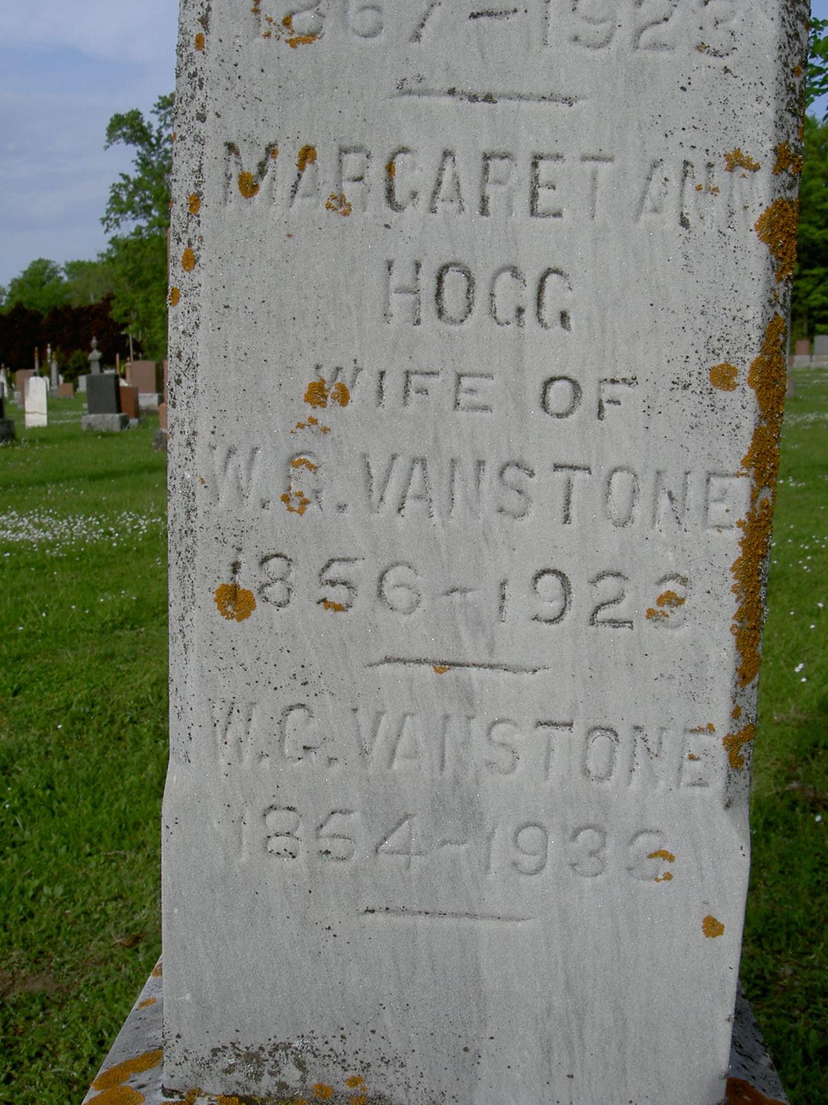 "Margaret Ann "" Maggie"" Hogg"
