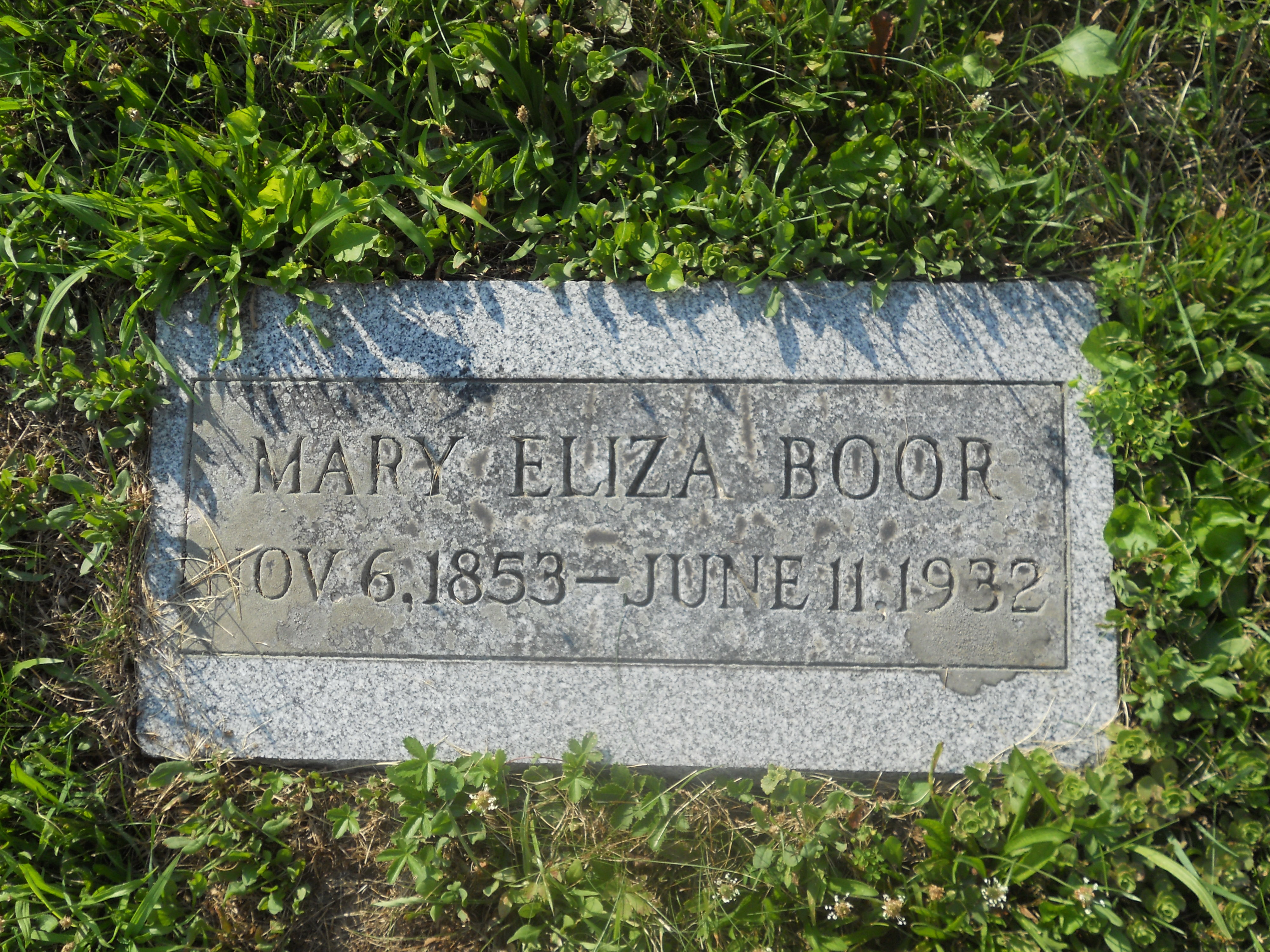 Mary Eliza Boor