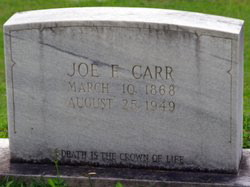 Billy Joe Carr