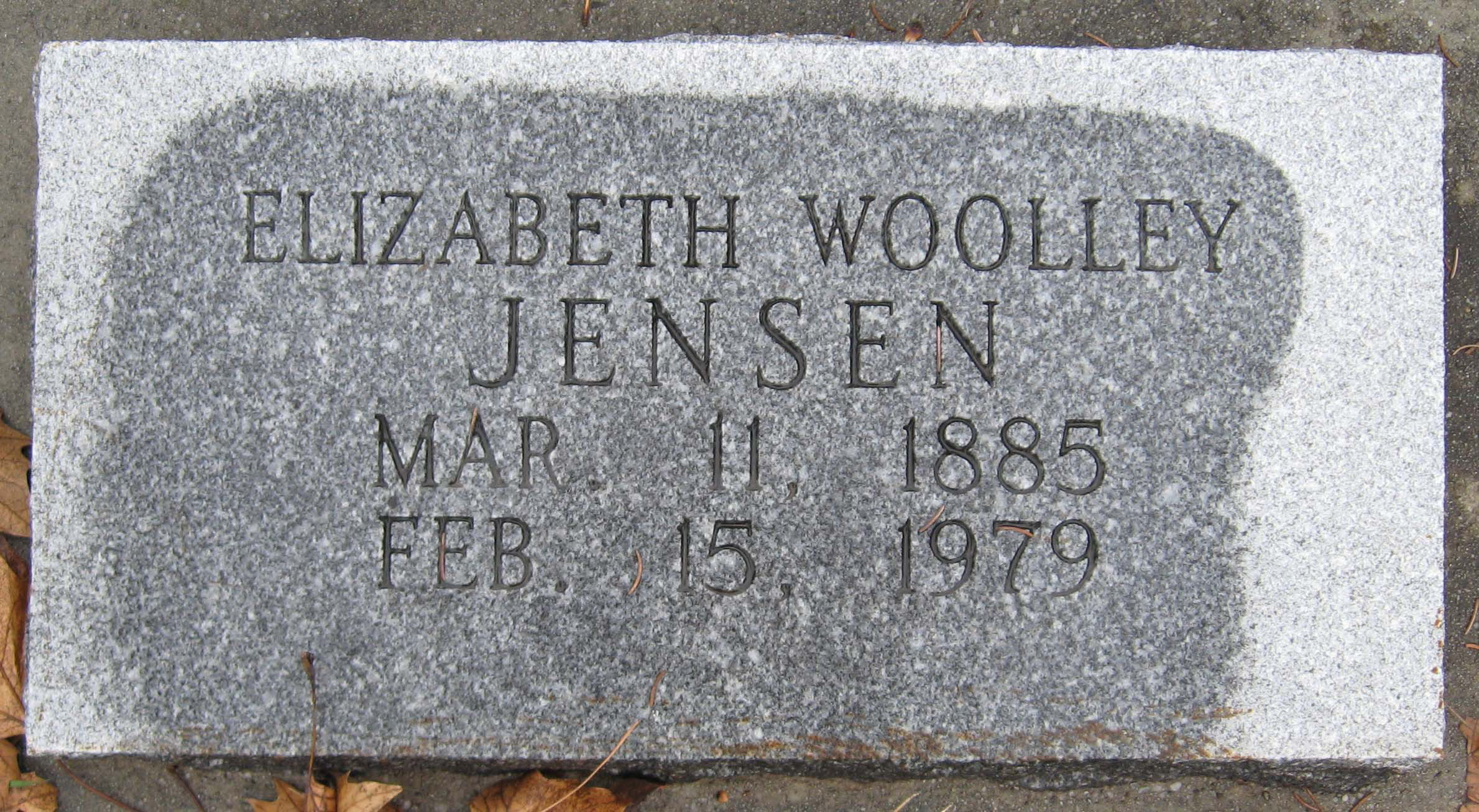 Elizabeth Price Woolley