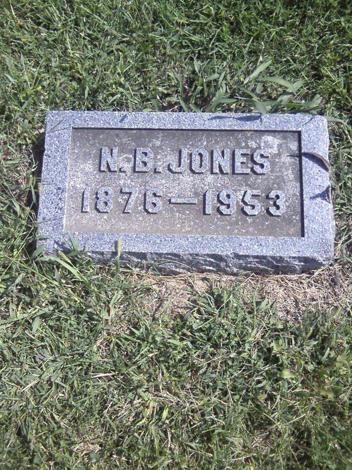 Newton B Jones