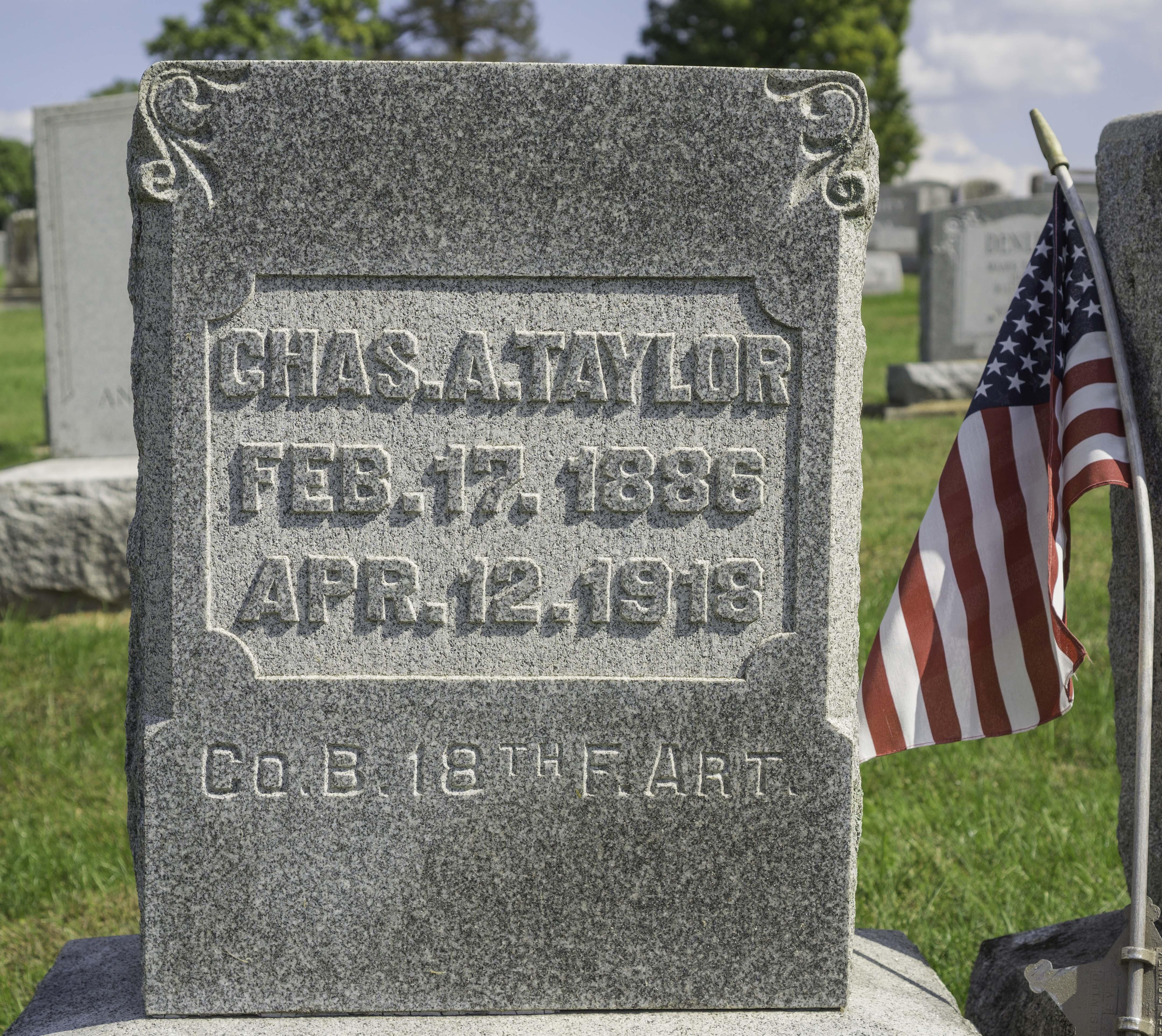 Charles A. Taylor