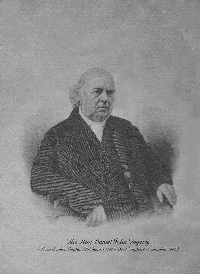 Rev Daniel John Gogerly