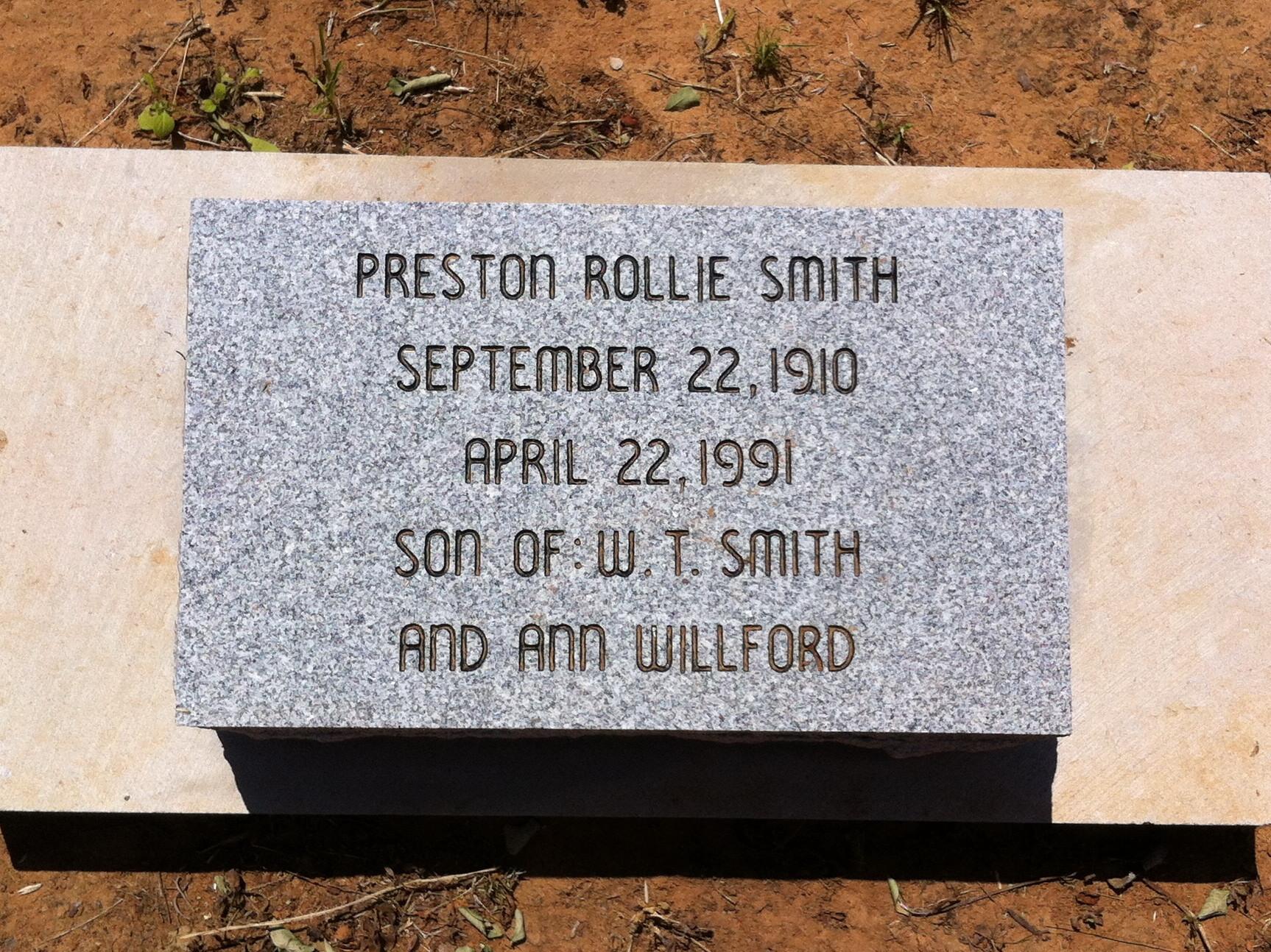 Preston Rollie Smith