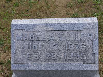 Mabel A Taylor