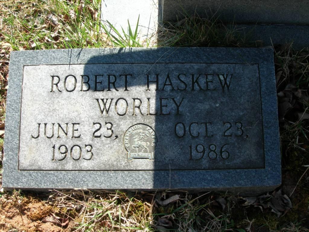 Robert Haskew Worley