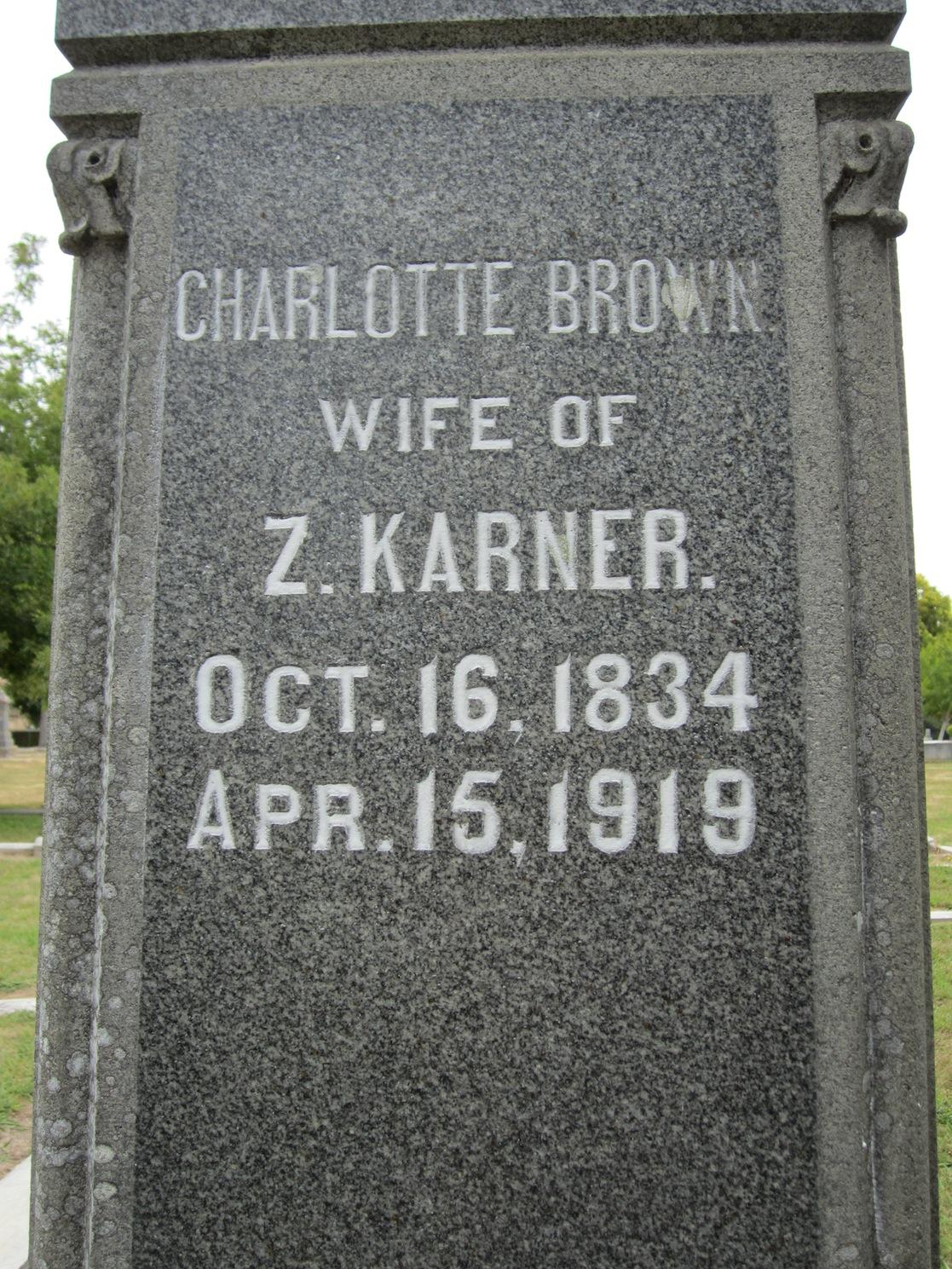 Charlotte Augusta Brown