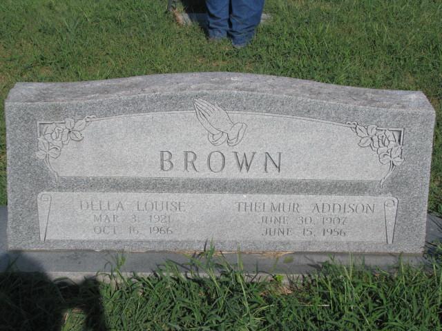 Thelmur A Brown