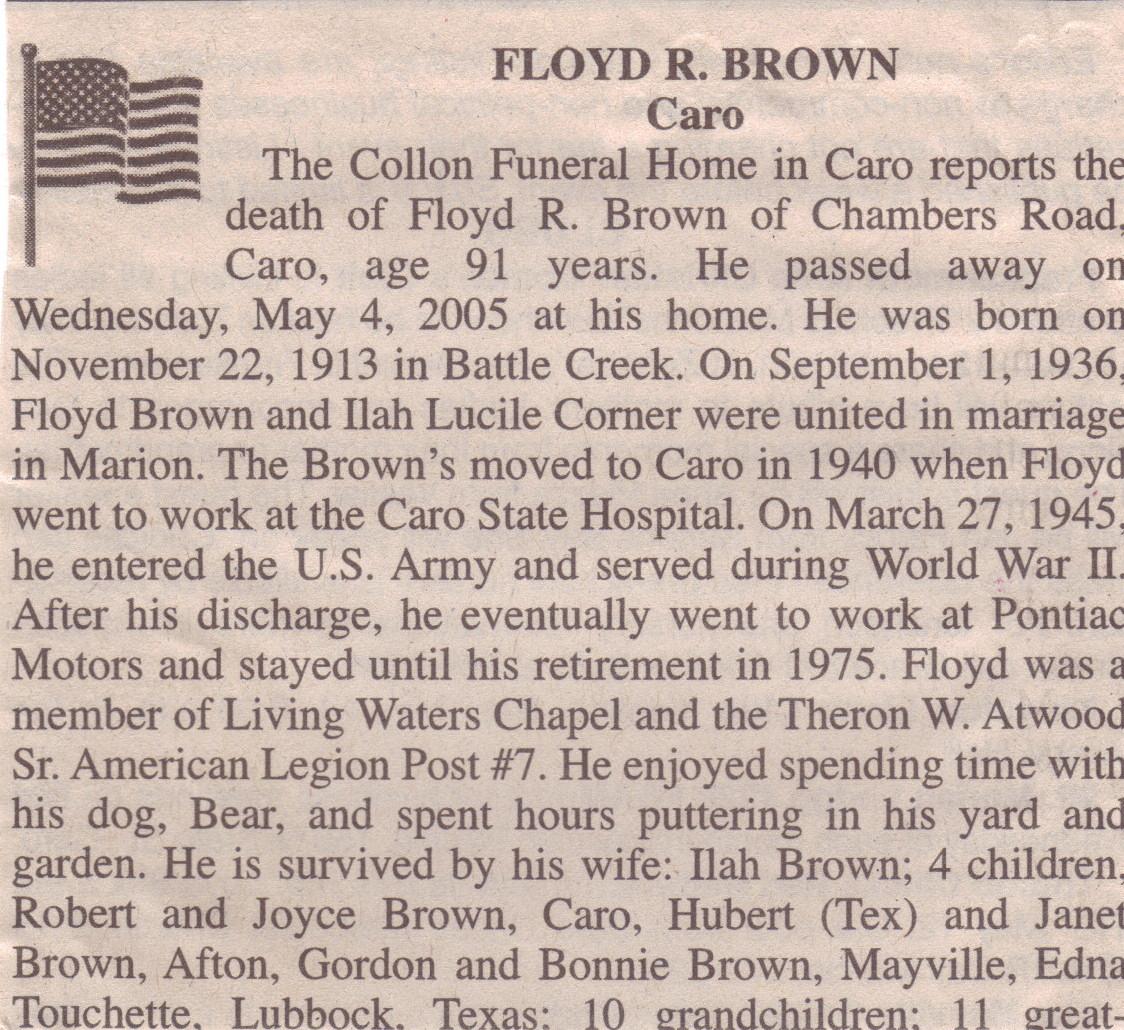 Floyd R. Brown