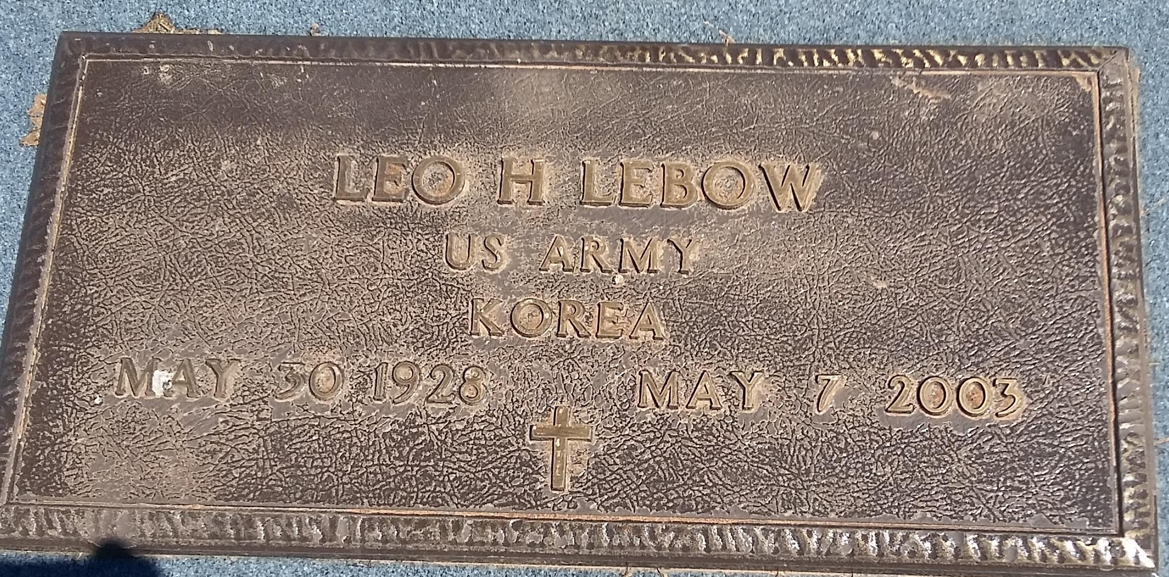 Leo Houston Lebow