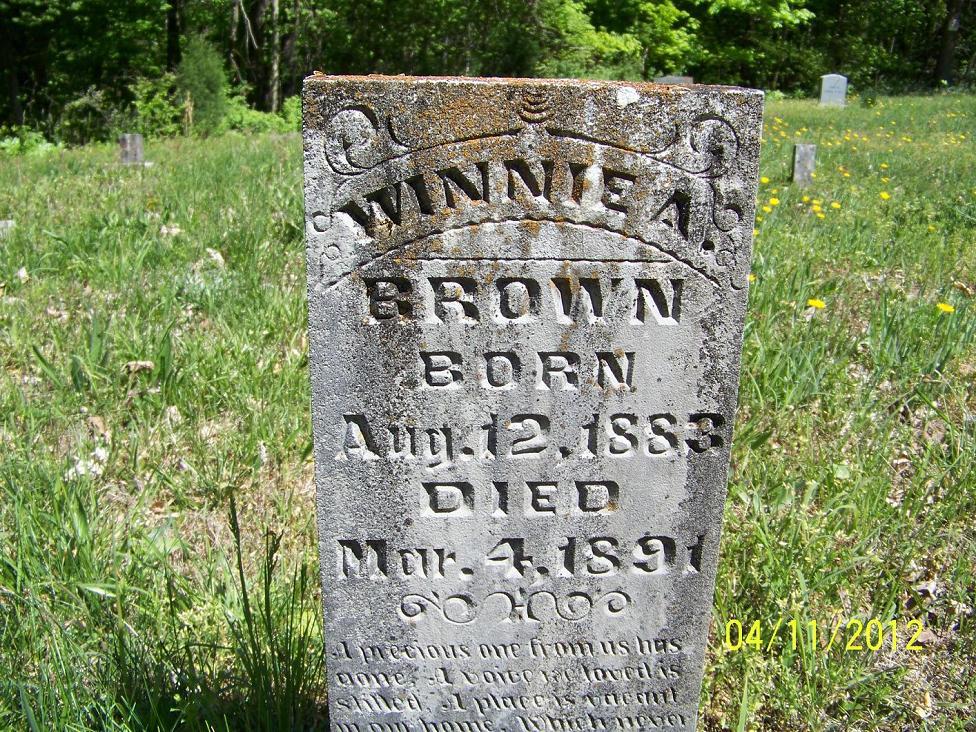 Winnie A Brown