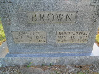 "John Leroy ""Lee"" Brown"