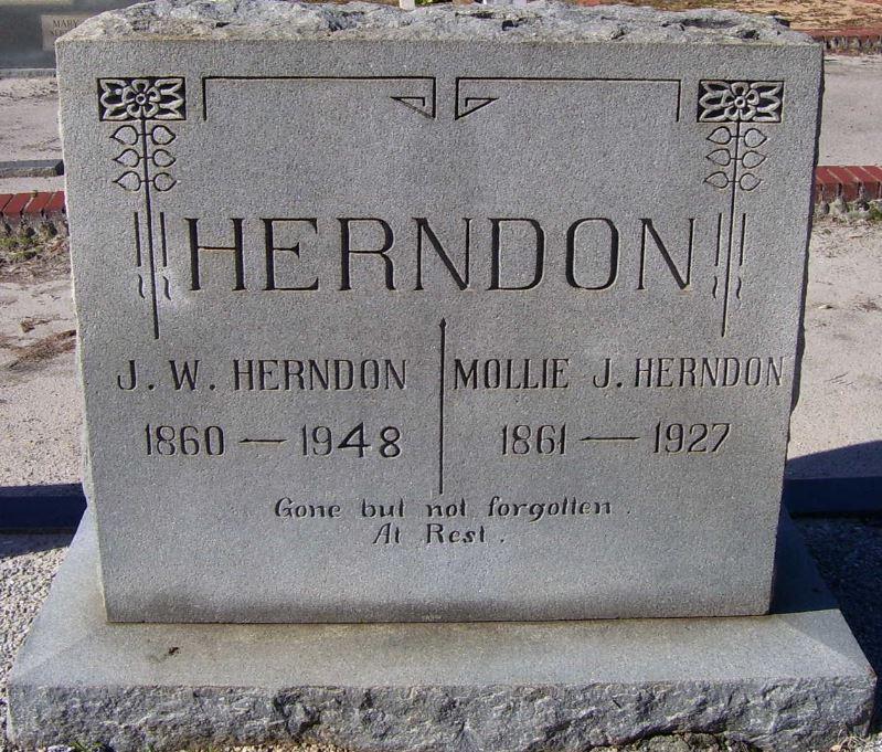 "Mary ""Mollie"" J. WILLIAMS* (Herndon)"