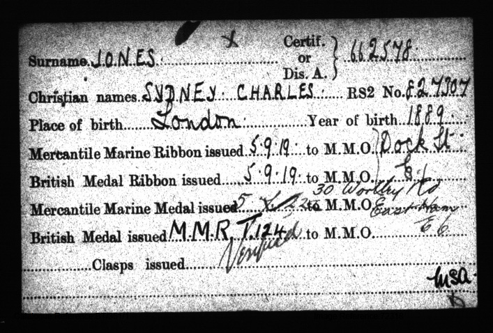 Sydney Charles Jones