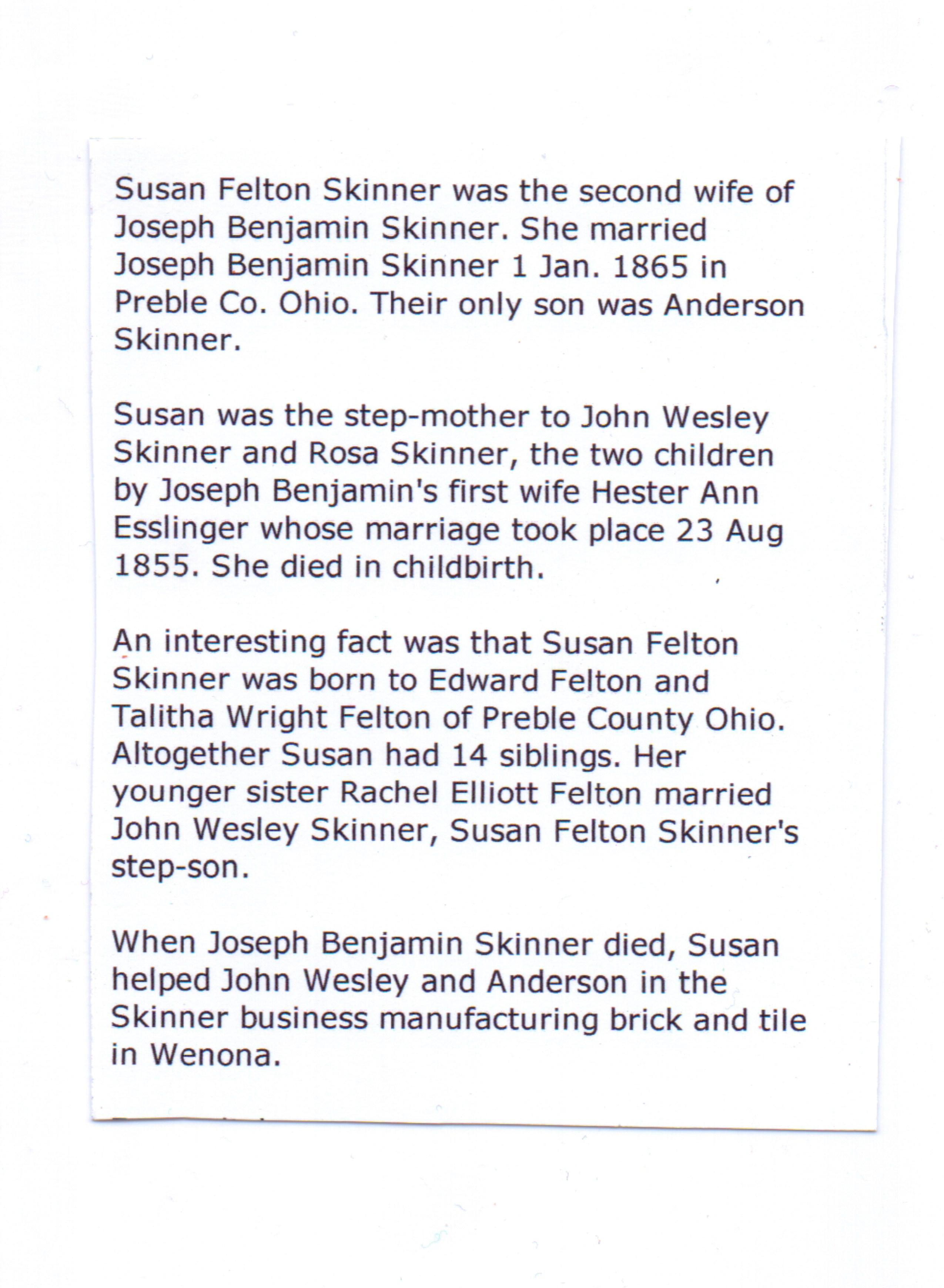 Susan Felton