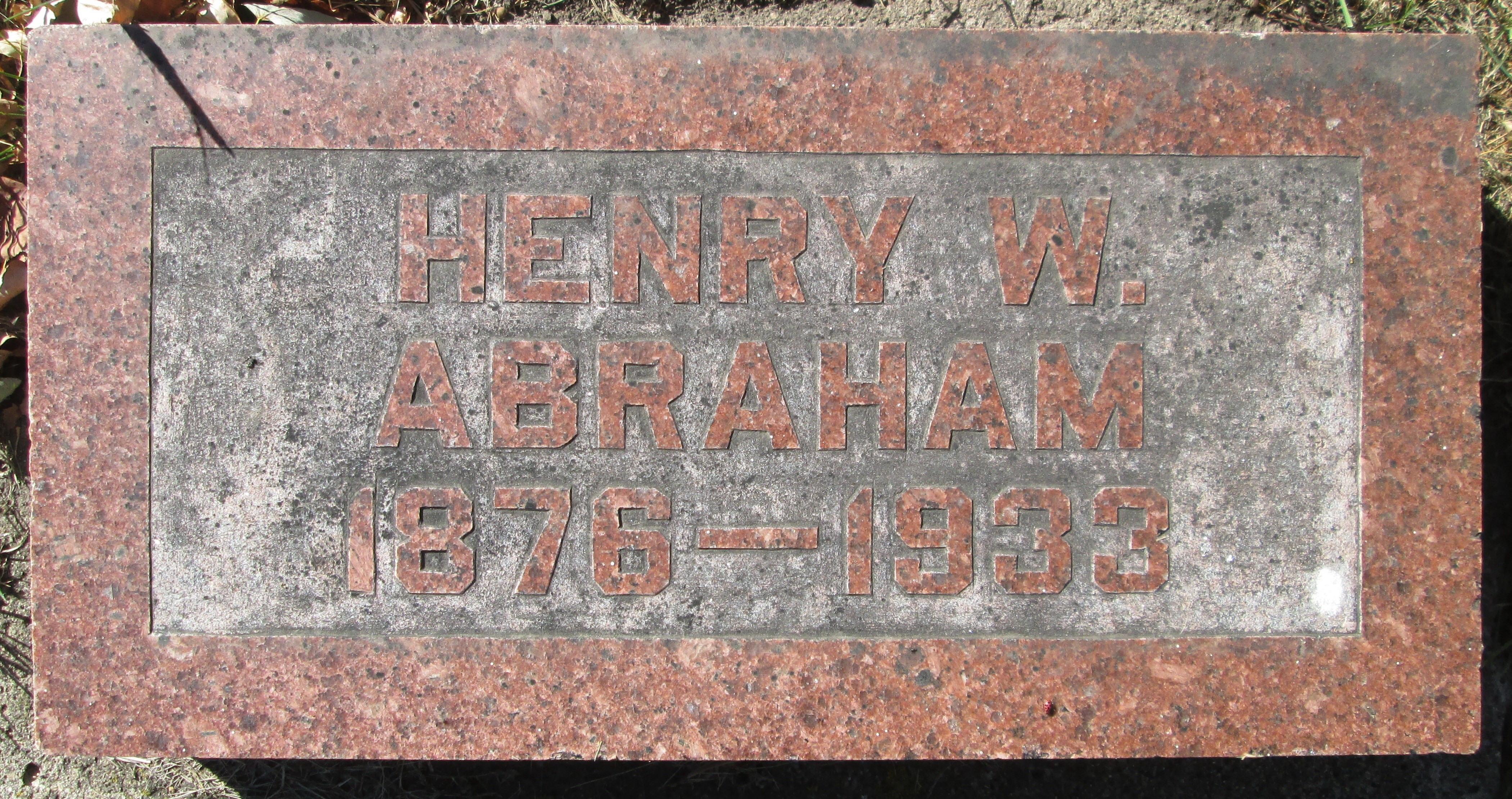 Heinrich William Frances Abraham