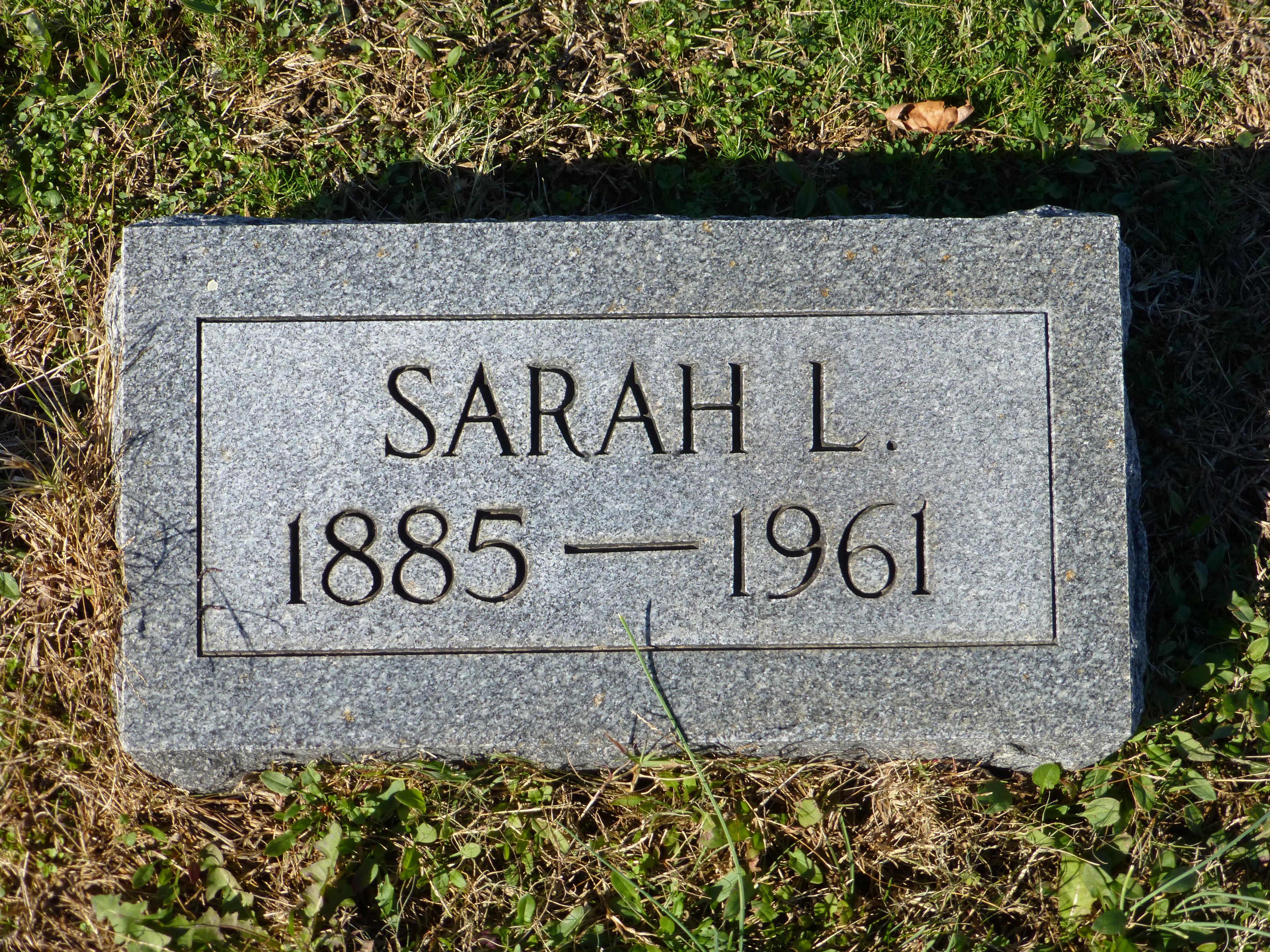 Sarah Rebecca Lewis
