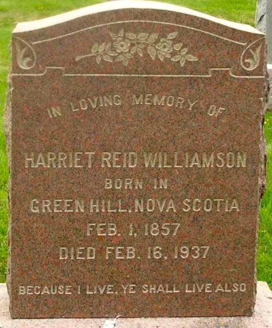 Harriet Reid